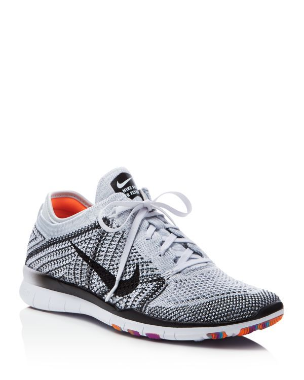 801b802e0afb0 Nike Women s Free Flyknit Lace Up Sneakers