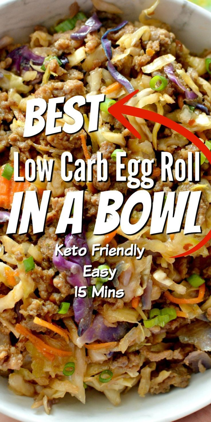 Best Low Carb Egg Roll In A Bowl