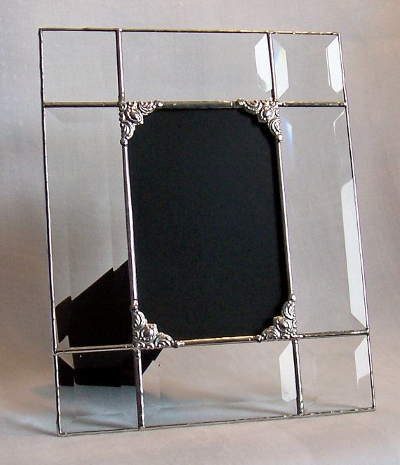 Made to Order 4x6 clear beveled glass by MichelesGlassStudio, $24.00 ...
