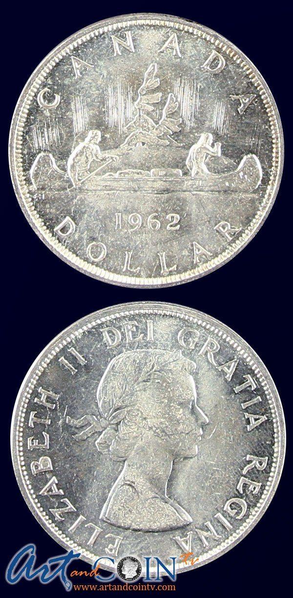 Canadian Varied Date BU 80% Silver Dollars www.artandcointv.com