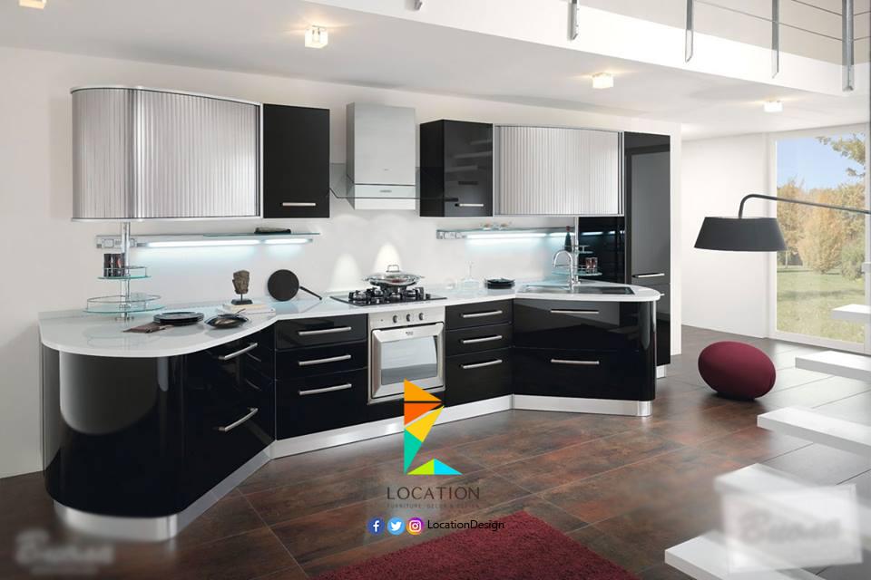 احدث الأفكار و التصميمات للمطابخ الامريكاني 2017 اهم ما يميز المطبخ الأمريكي و التقليدي Modern Kitchen Design Kitchen Decor Modern Interior Design Kitchen