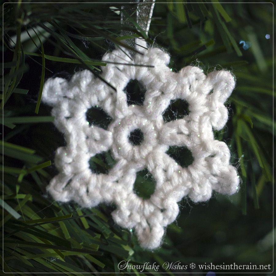 Free Pattern: Snowflake Wishes 2 | Joyerías, Patrones y Tejido