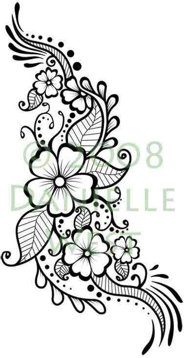 Pattern Idea Henna Tattoo Designs Henna Patterns Flower Henna