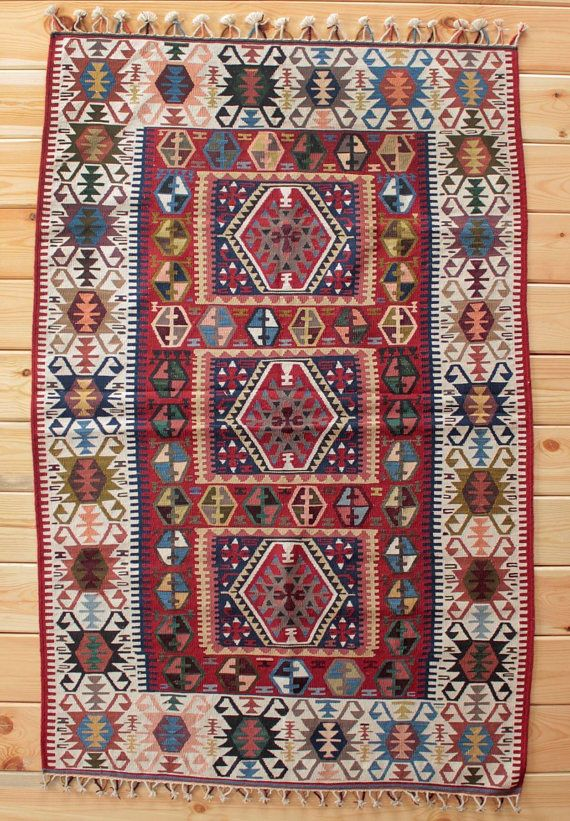 Pin By Janine Malek On Rugsnrunners Colorful Rugs Unique Rugs Kilim Area Rug