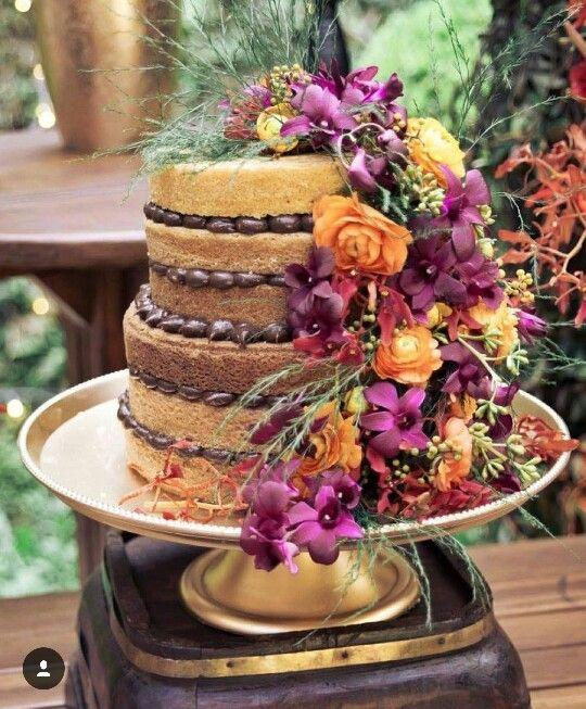 SEMI NAKED CAKE no Elo7   PATRICIA CROCE DOCES (11ED964)