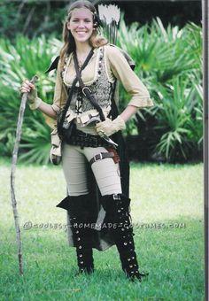 Robin Hood Adult Medieval Huntress Costume N11911
