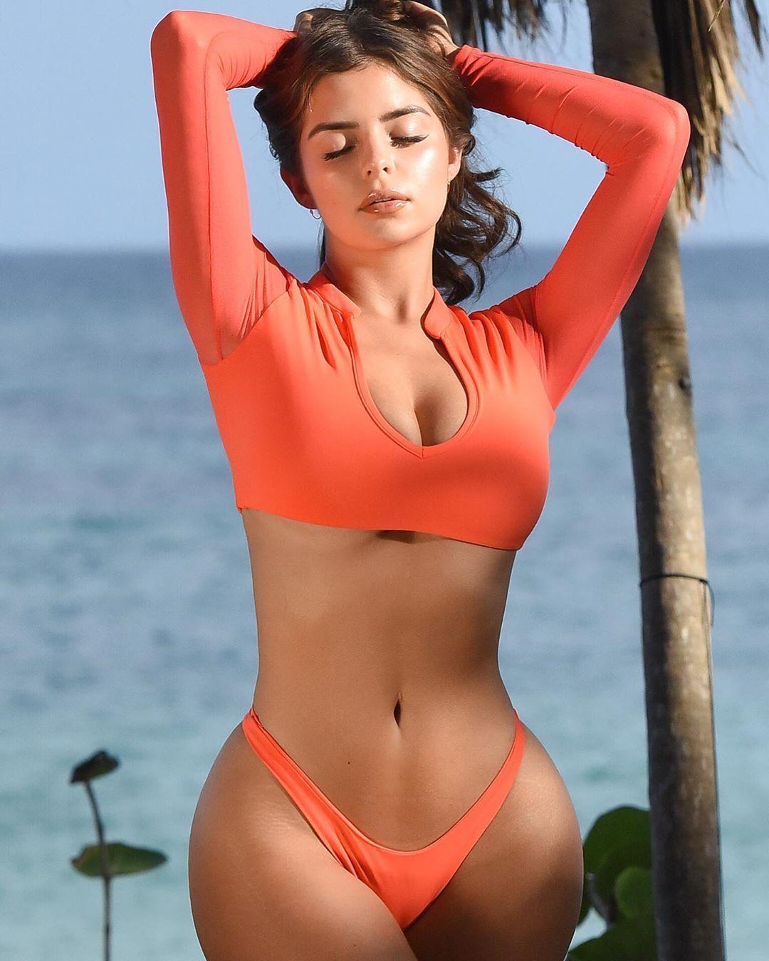 "Demi Rose on Instagram: ""Sun kissed ☀️"" | Sexy bikini girls ..."