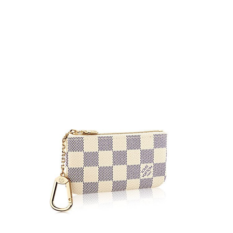 897ca345ed35 Key Pouch Damier Azur Canvas in WOMEN s SMALL LEATHER GOODS KEY   CARD  HOLDERS collections by Louis Vuitton