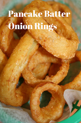 Buttermilk Pancake Batter Onion Rings With Images Onion Rings Food Recipes