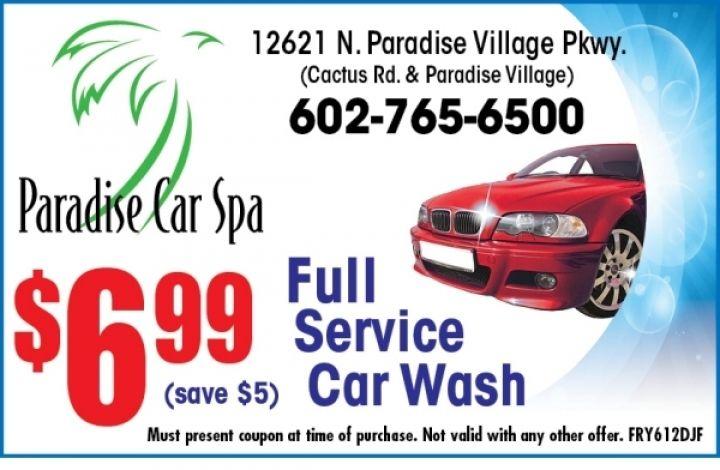Paradise Car Spa Car Wash Coupons Car Wash Spa
