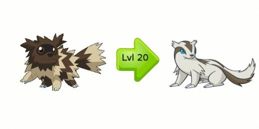 zigzagoon evolution | Bead sprites | Pinterest | Evolution ...