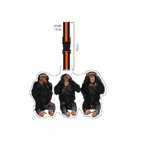 Maymun Valiz Etiketi