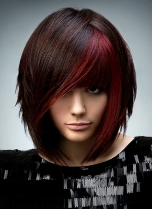 14++ Short bob hairstyles with red highlights info