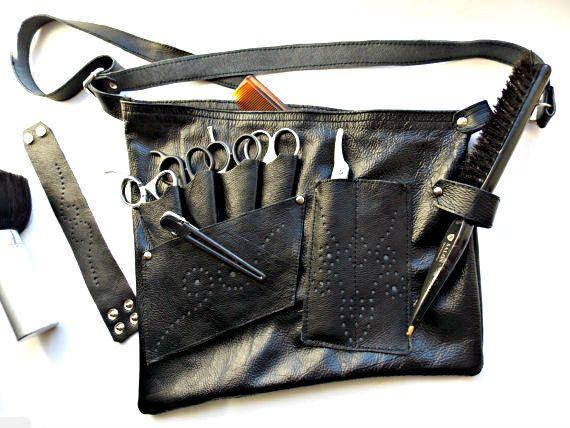 Haidressing Belt Barber Scissor Holster Leather A
