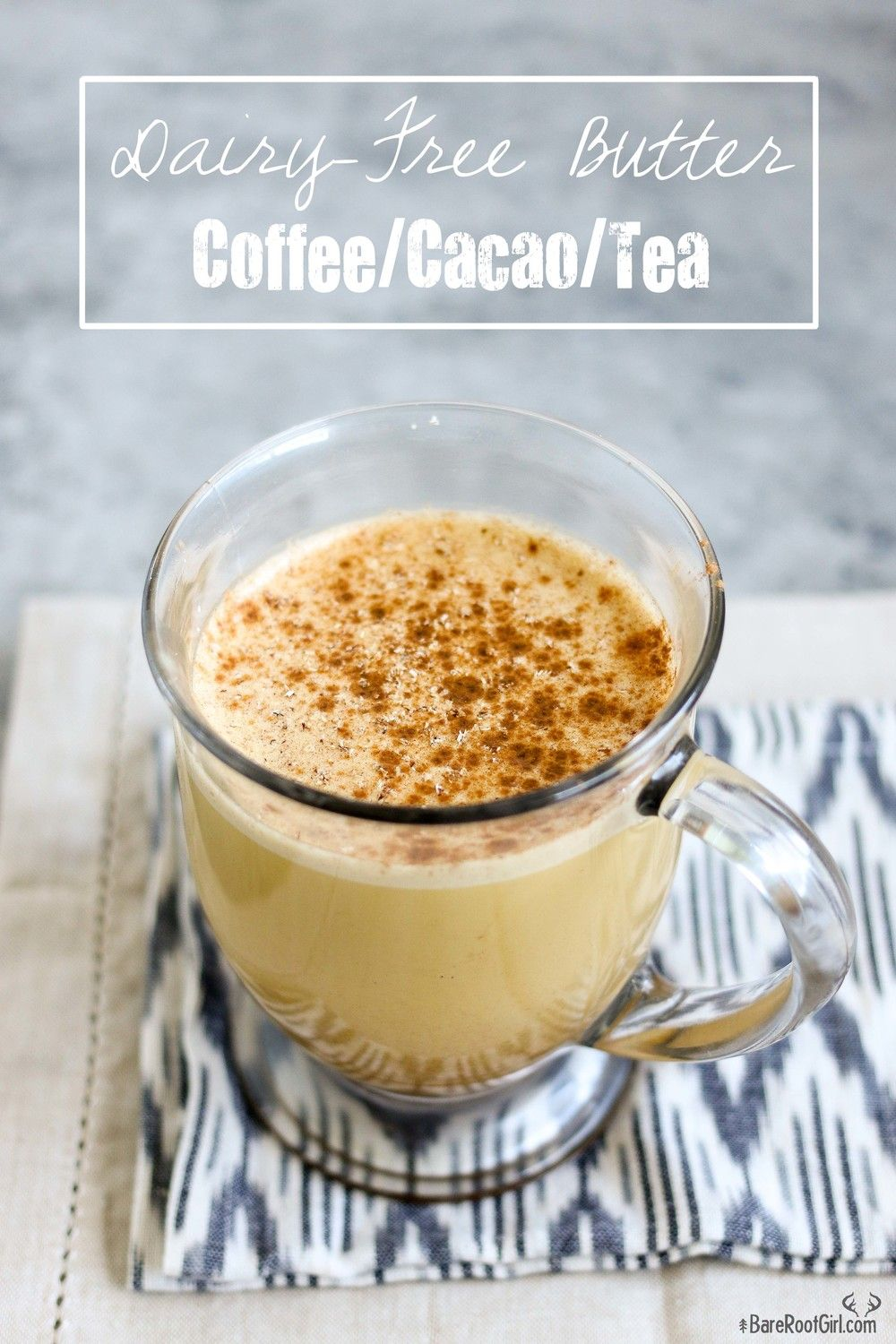 Dairy-Free Butter Coffee, Cacao, or Tea | recipes.bulletproof | Bulletproof coffee, Dairy free ...
