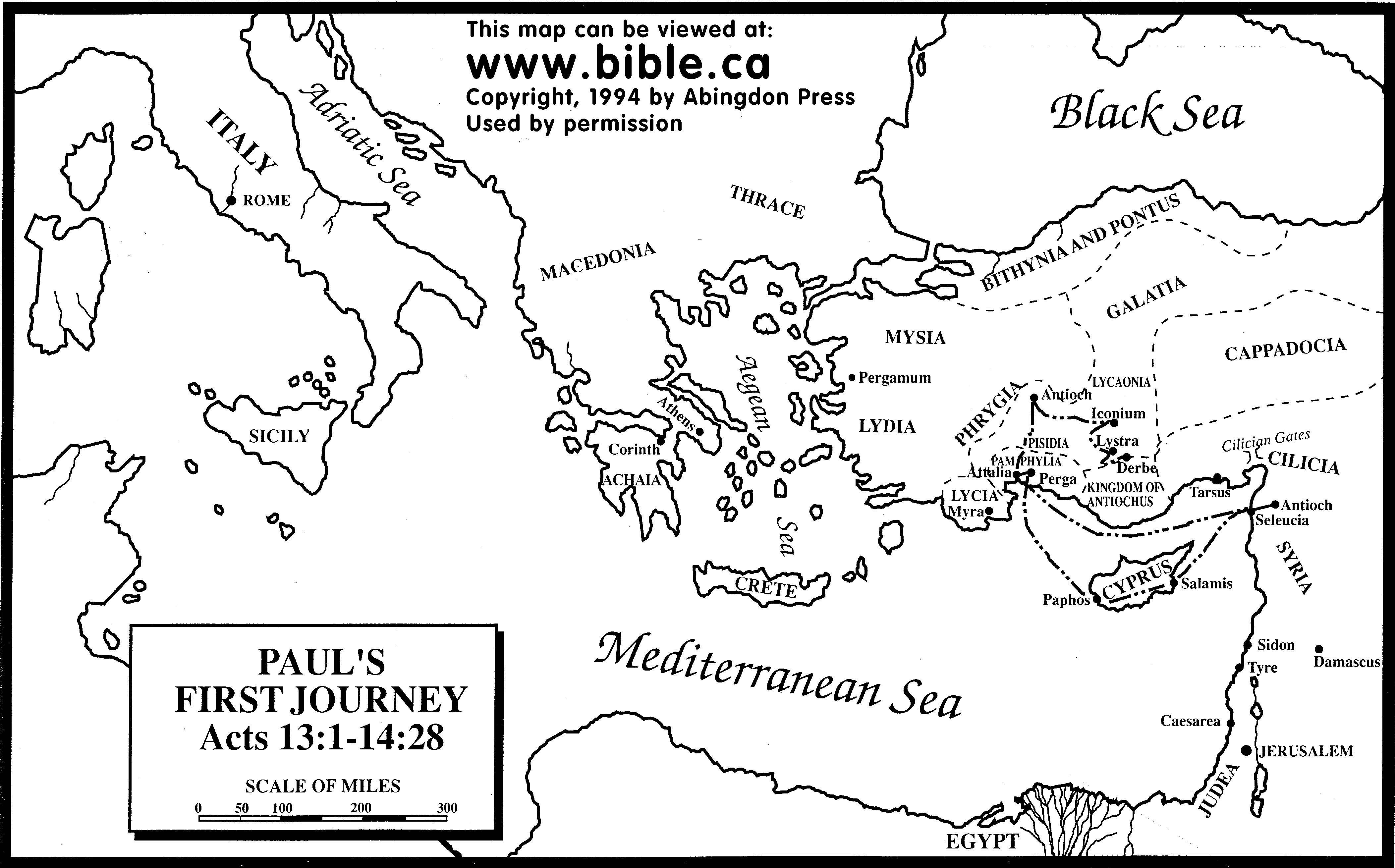 Paul S First Missionary Journey Mystery Of History Volume 2
