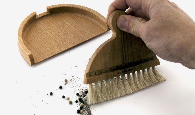 Iris Table Brush U0026 Dustpan