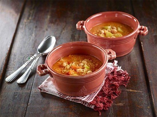 Zuppa di miglio e ceci al curry | casadivita.despar.it