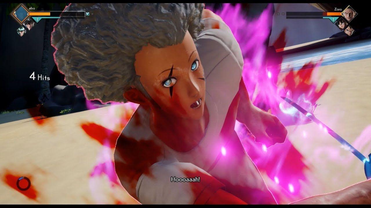 Cac Zoro S Sandai Kitetsu Sword Mod Gameplay Jump Force Hd Zoro Gameplay Energy Sword