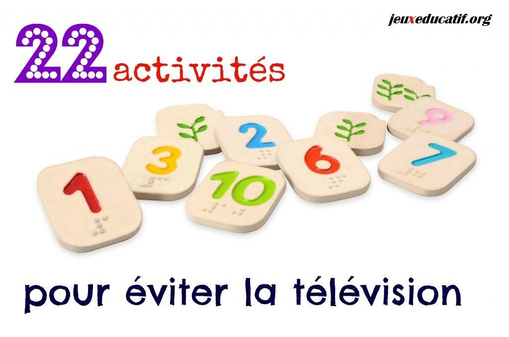 activite manuelle jeux tv