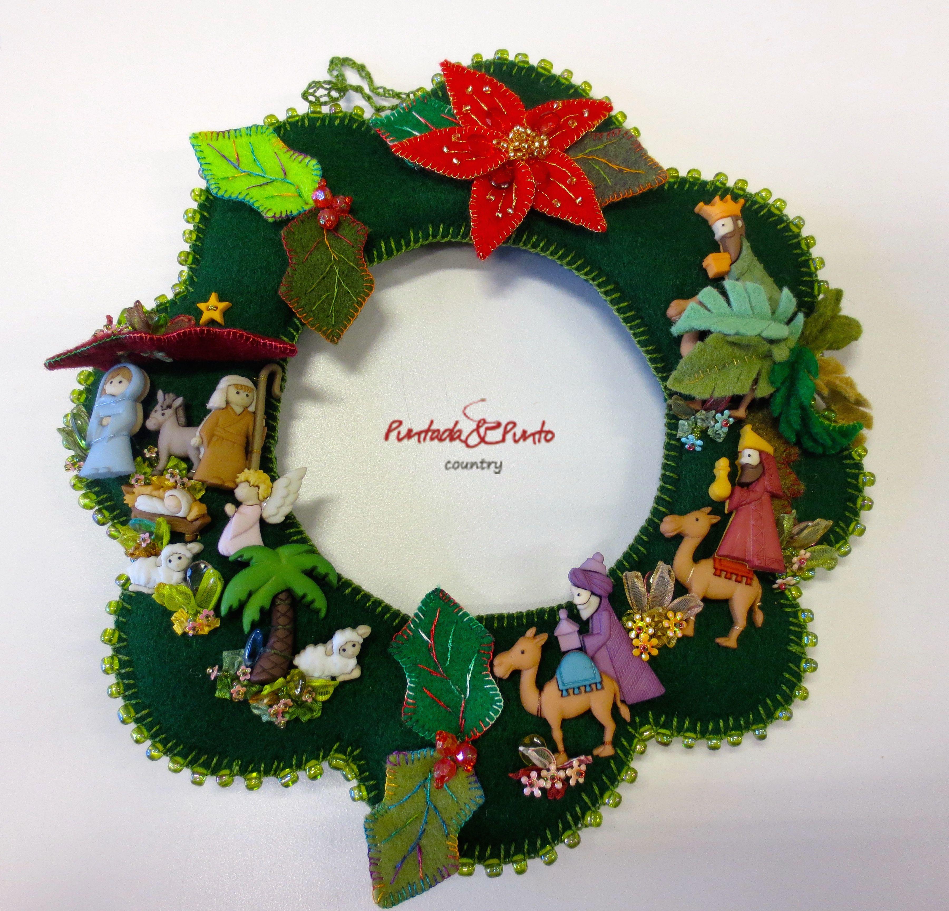 Felt Christmas Craft Ideas Part - 38: Felt Christmas, Christmas Crafts, Christmas Trees, Christmas Nativity, Ideas  Para, Nativity Crafts, Search, Felt Ornaments Patterns, Felt Wreath