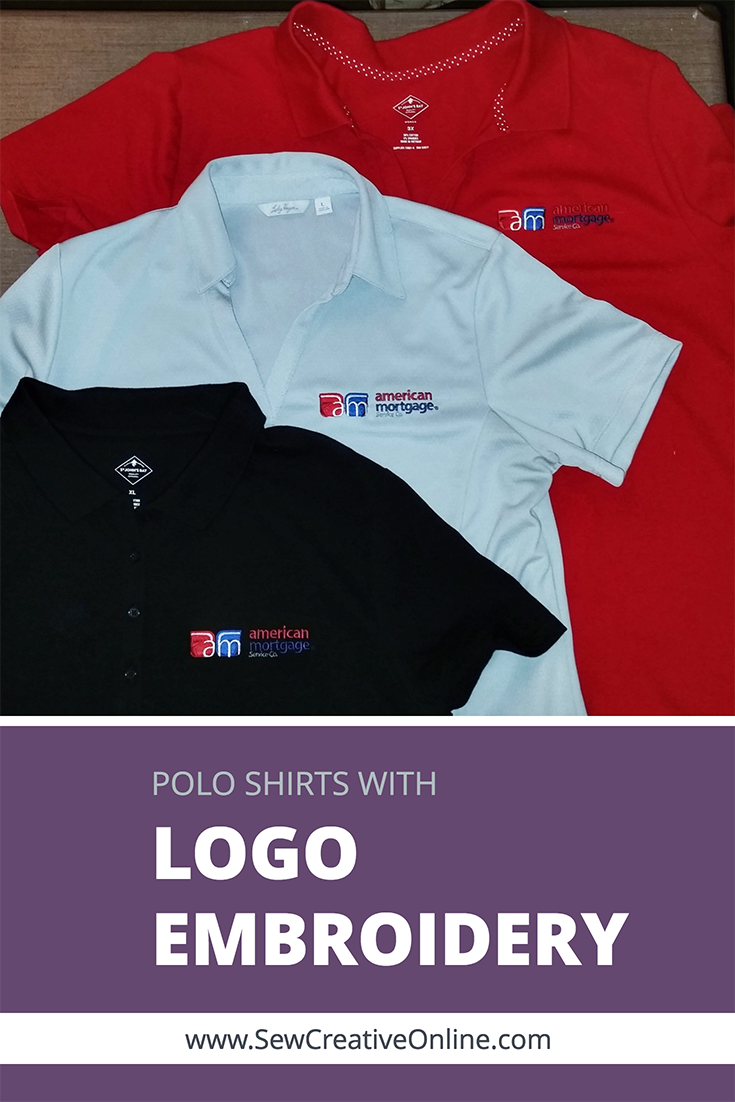 Polo Shirts With Logo Embroidery For American Mortgage Embroidery Logo Polo Shirt Logo Shirts