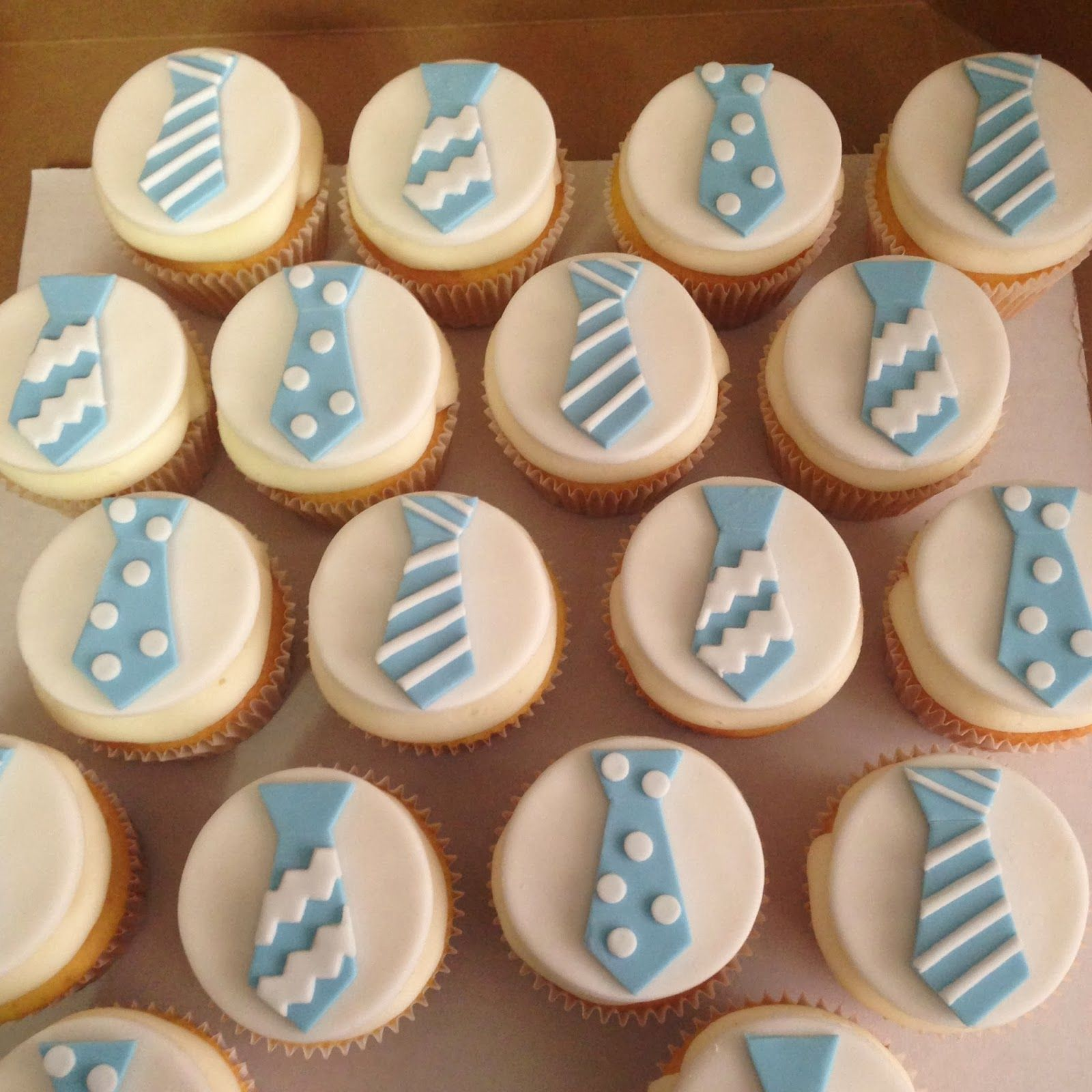 """Cakes by Mindy: Tutu or Tie Gender Reveal Cake 10"""" and Cupcakes"""