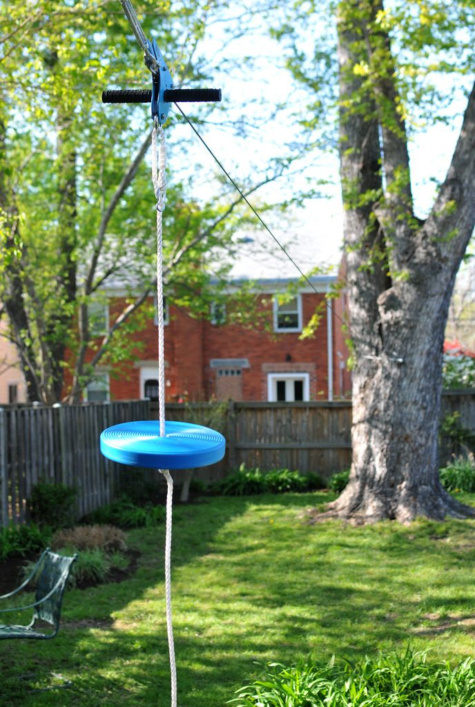 Innovative Backyard Zip Line Ideas A Good Playground Is ...