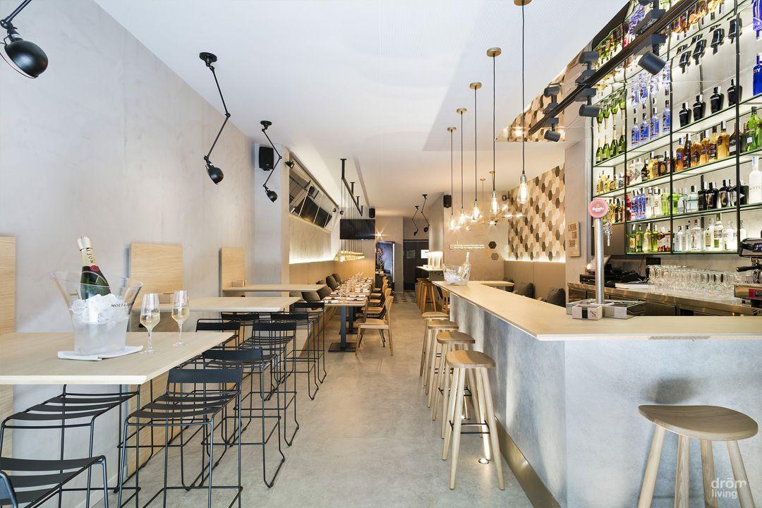 Diseño minimalista para un nuevo restaurante en Barcelona ...