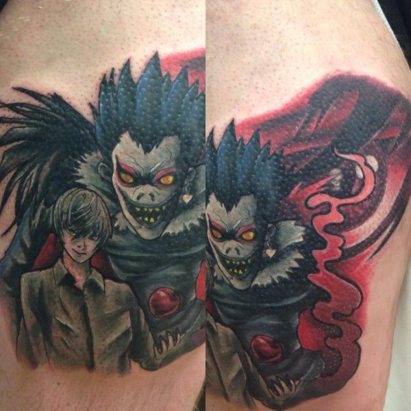 Attack on titan tattoos thor grove gallery for Attack on titan tattoo