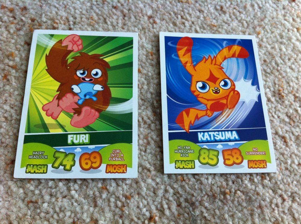 Moshi Monsters Mash Up Monsters Furi & Katsuma Trading