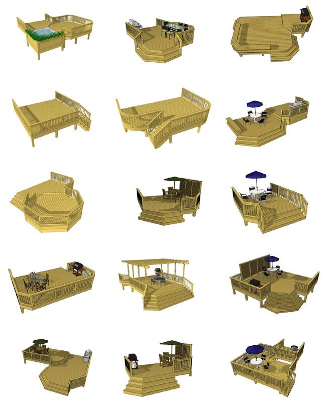 Deck Plans Ground Level 3 Residential And Commercial Fence Fabrication Raleigh Deck Design Plans Deck Designs Backyard Building A Deck