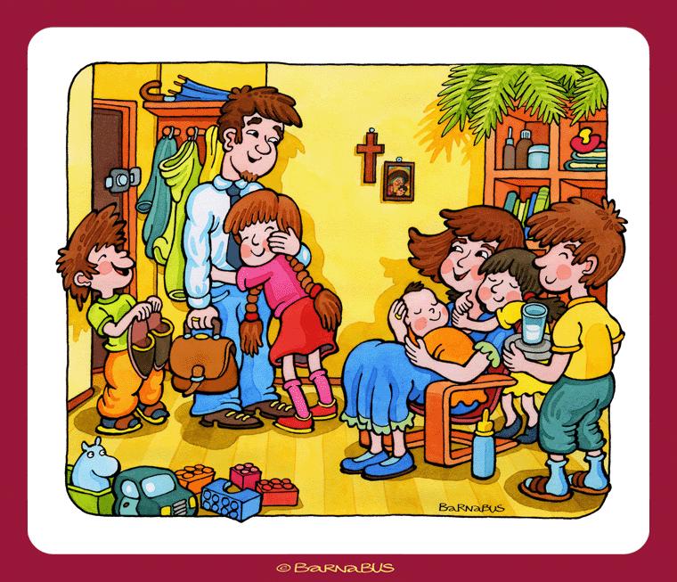 © Barnabus - #Katechizm ▪ Begegnung mit Jesus - IV przykazanie ▪ Du sollst #Vater und #Mutter ehren.