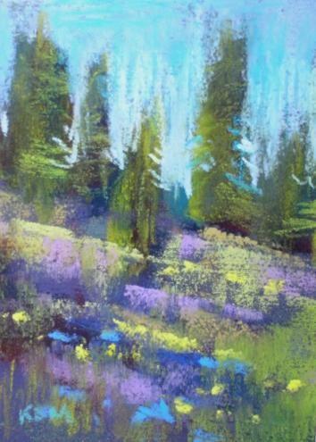 Miniature Pastel Landscapes Pastel Landscape Pastel Artwork Pastel Painting