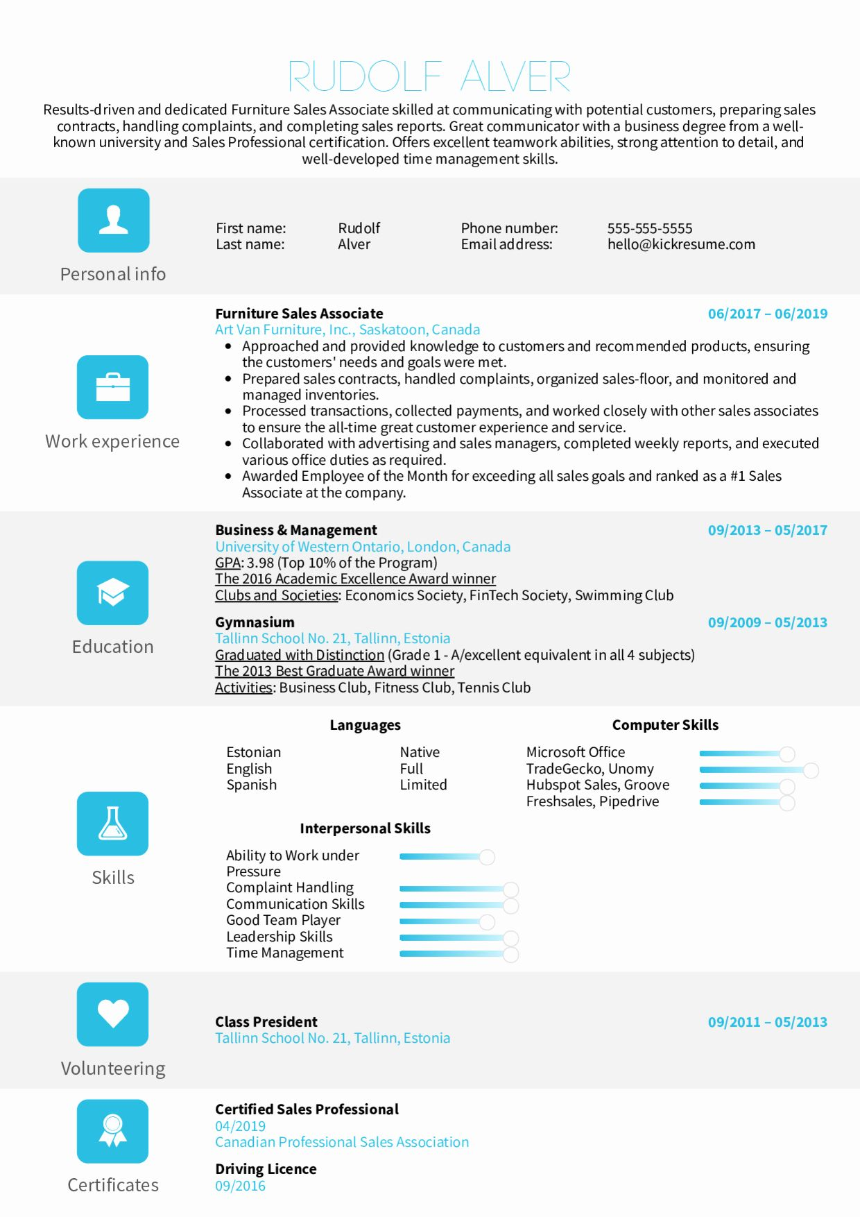 23 resume examples for sales associate in 2020 with