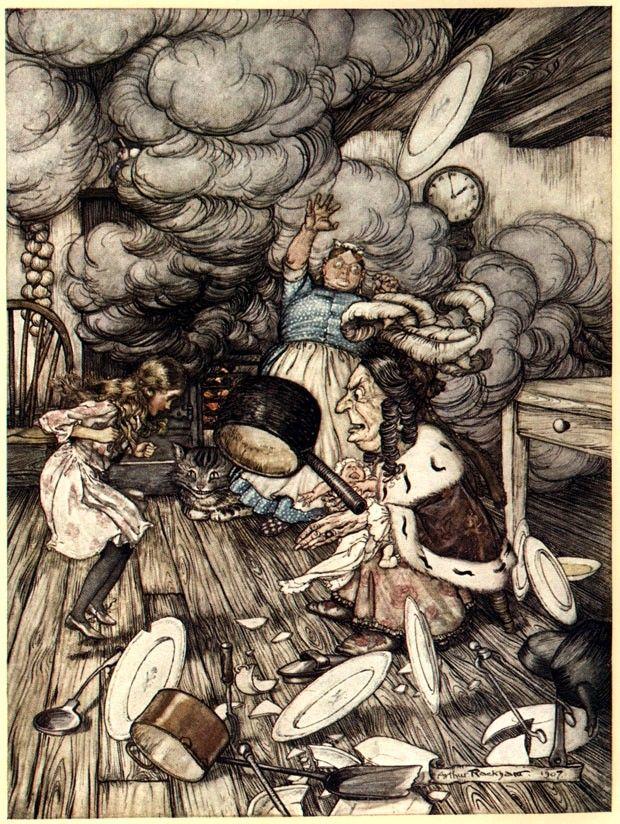 Arthur Rackham's Alice