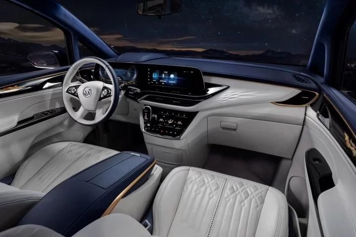 The Buick Gl8 Avenir Concept Has The Best Interior In Buick S History Buick Gl8 Buick Mini Van