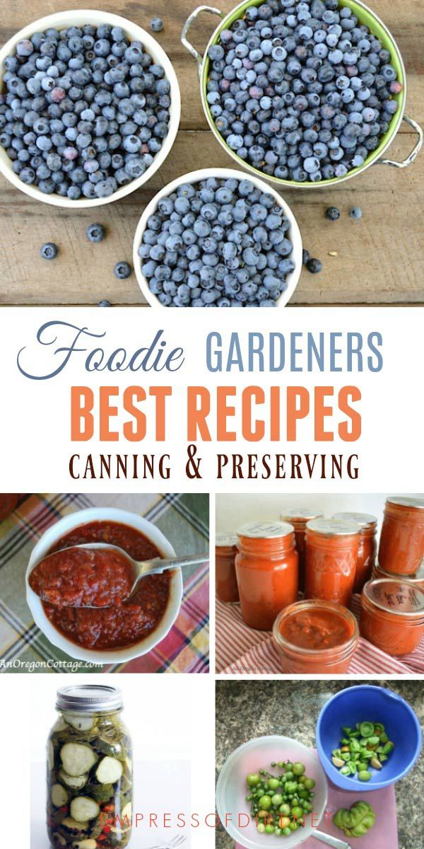 Best canning preserving recipes by foodie gardeners forumfinder Image collections