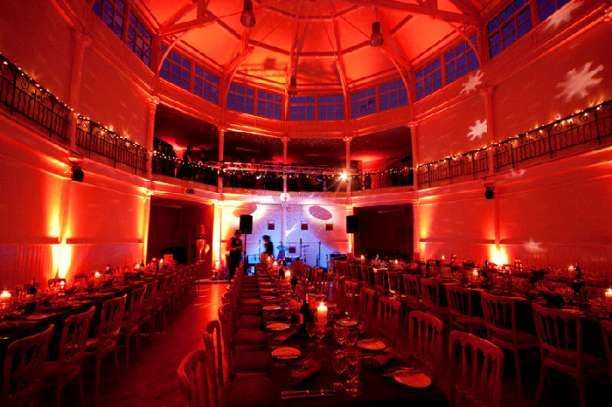 - Wedding long table setting at The Tab Centre The Tab Venue wedding venue in Hackney, London, Greater london