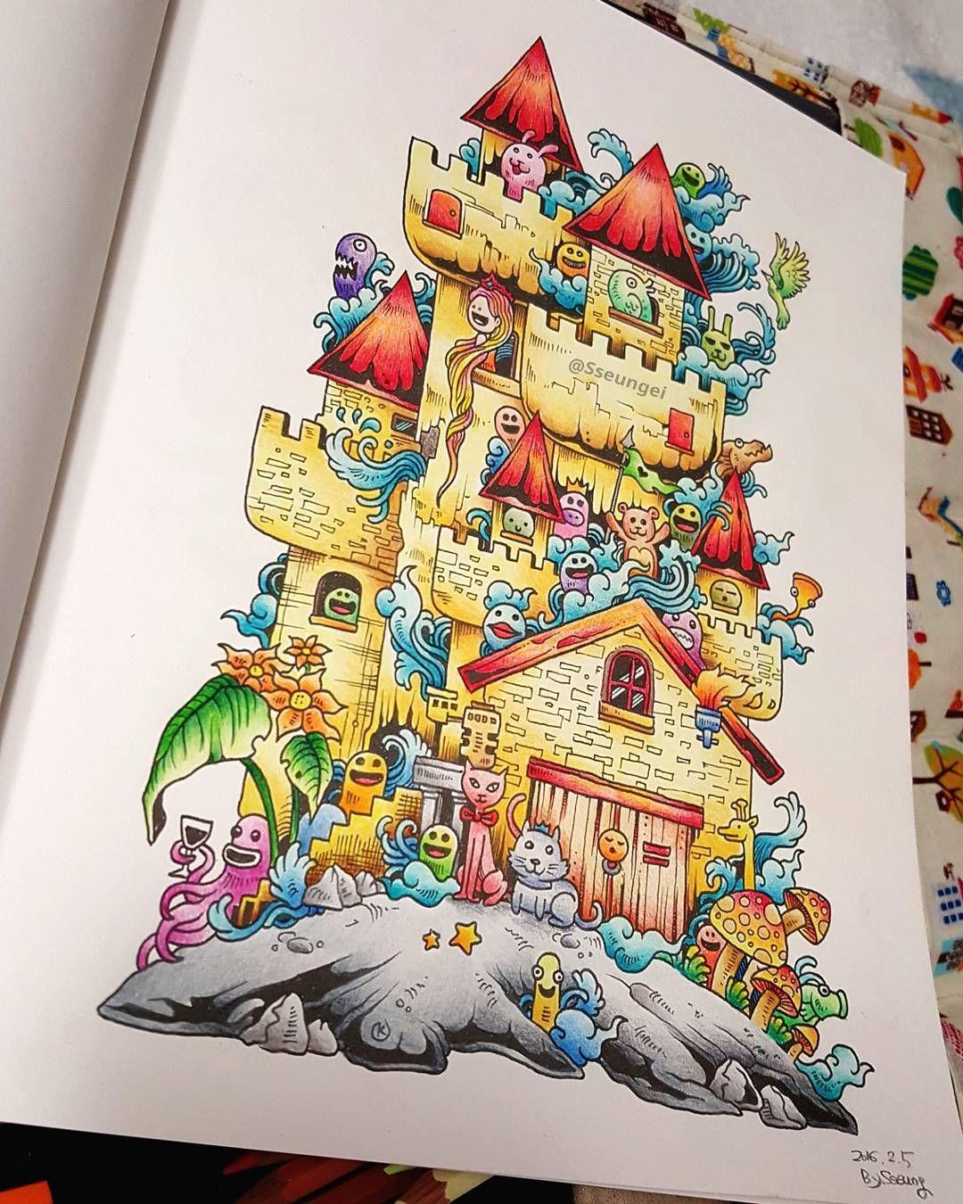 South korea coloring book - Korea