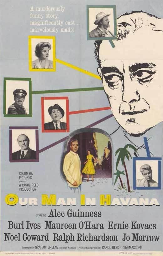 Our Man In Havana 1959 Alec Guinness Dvd In 2019 Comedy