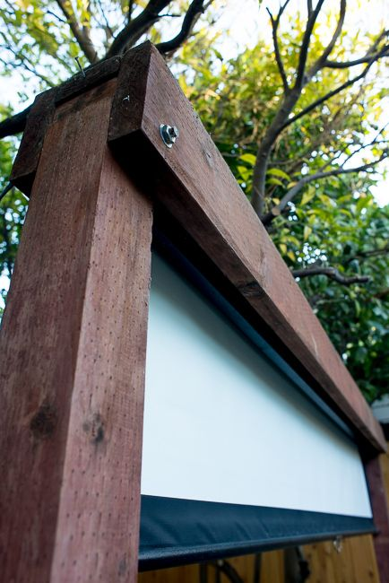 Outdoor Projector Screen Stand