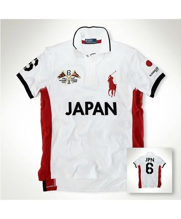 Ralph Lauren Polo Custom-Fit Ocean Racing Shirt Japan #polo shirts