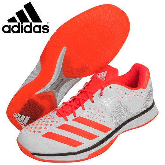 best website b7852 ec587 adidas Counter Blast Men s Badminton Shoes Training Coral White Racquet  CG2761  adidas