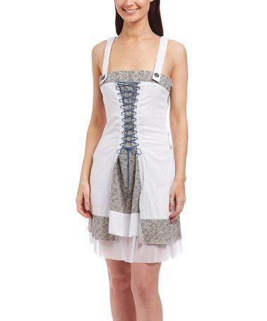 white corset sleeveless dress zulily zulilyfinds  white