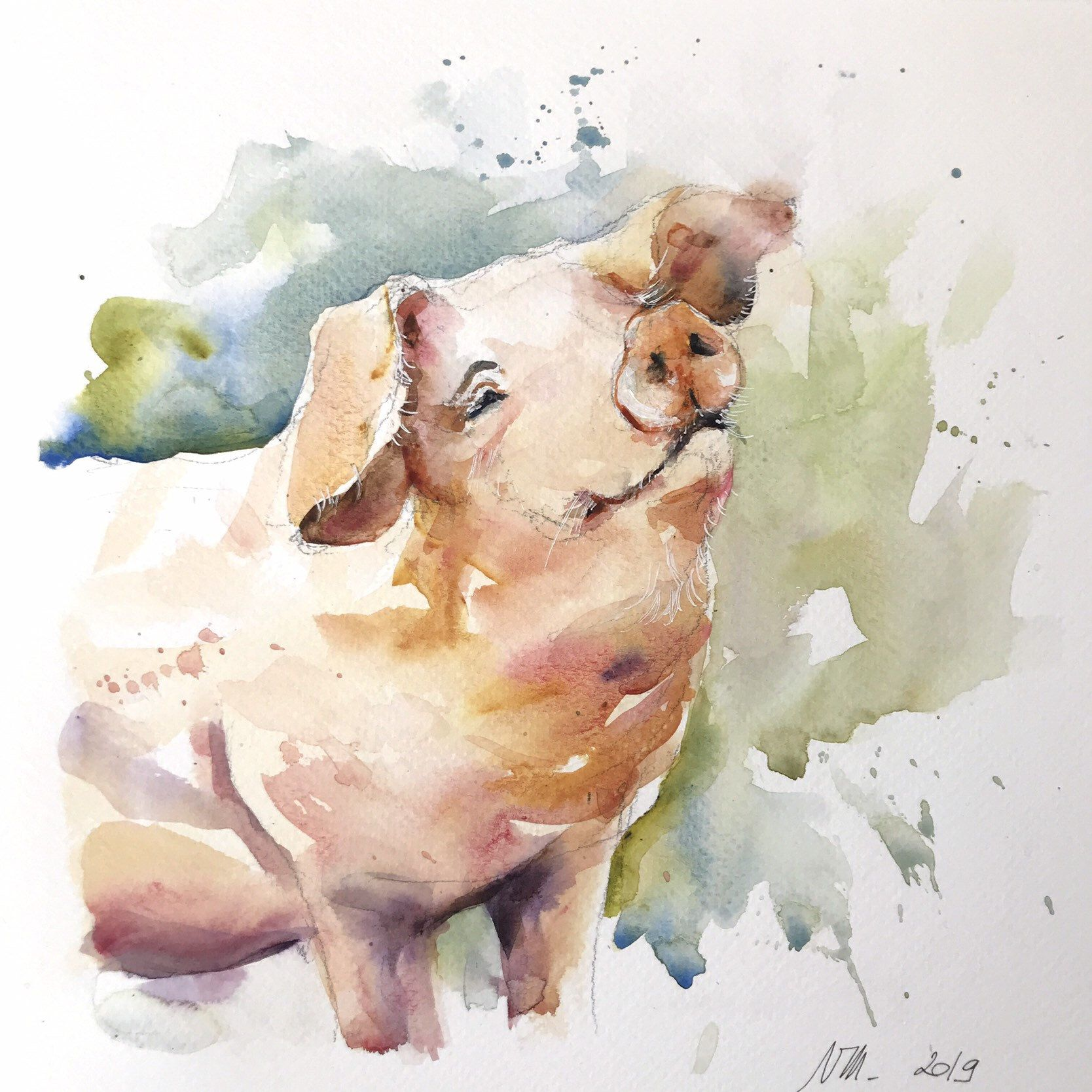 Epingle Sur Aquarelles