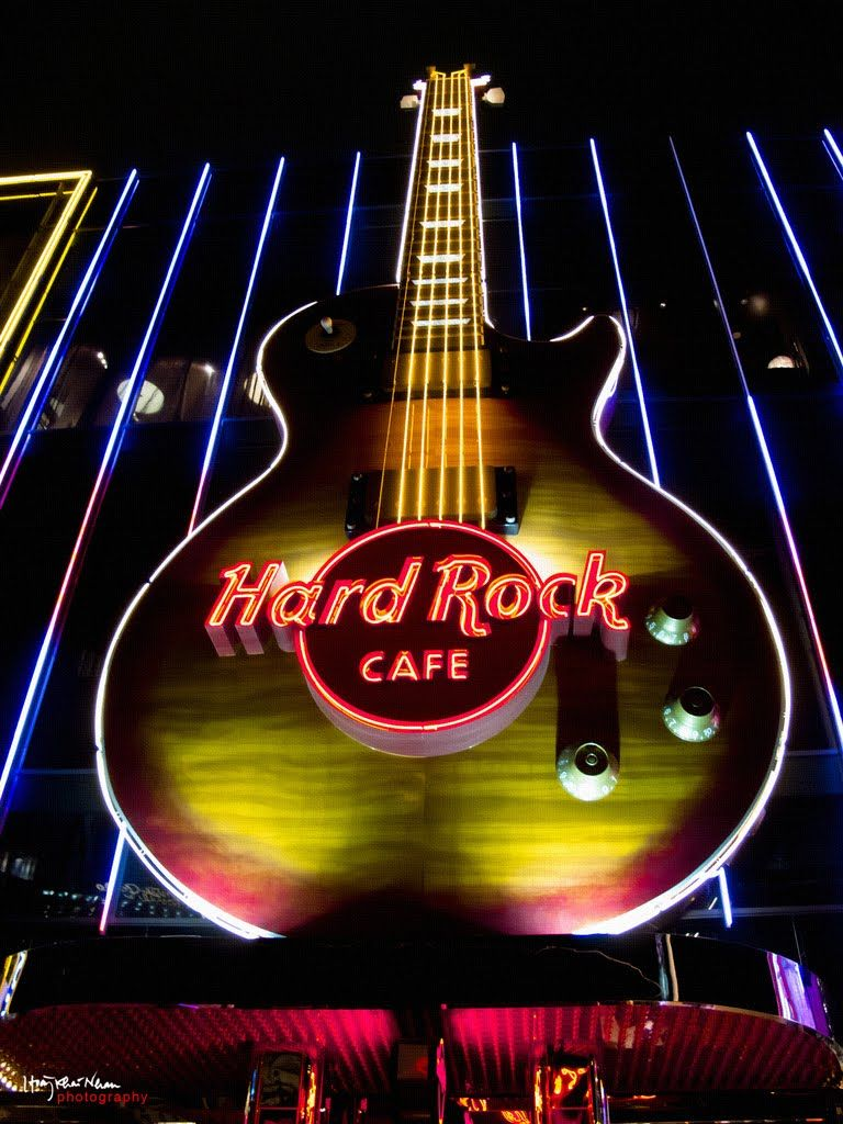 Hard Rock Cafe Las Vegas...somewhere I've actually been.
