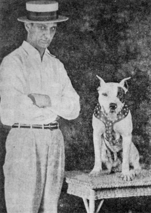BARBER W/HOBO JOE (PURE COLBY DOG) American pitbull