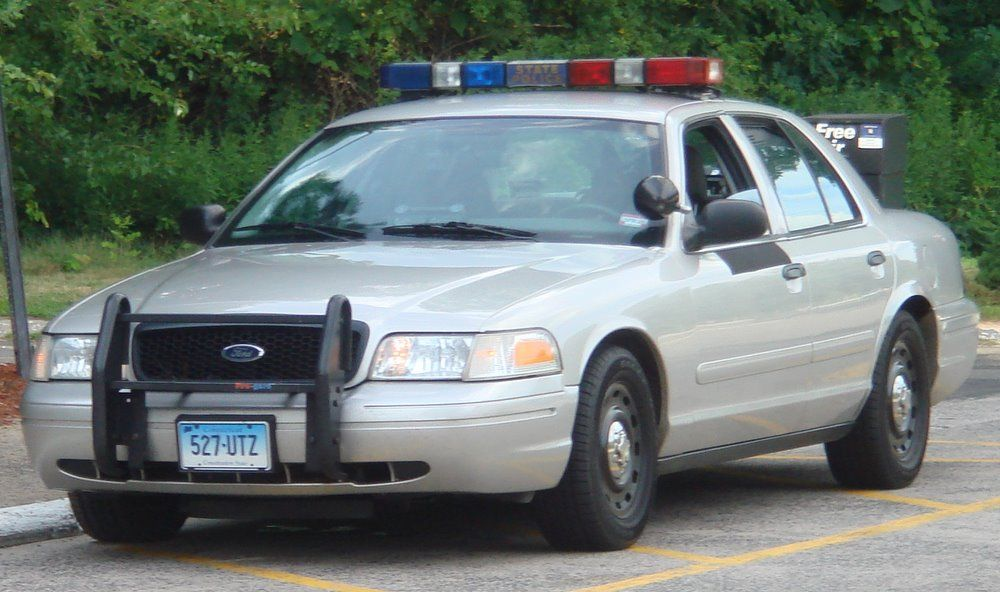 Connecticut State Police Car   Cars   Police cars, Old