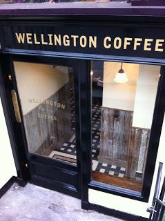 Really Lovely Coffee Shop In Edinburgh On The Corner Of